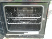 Servis DG60B double gas cooker