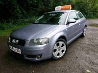 Audi A3 Sport Quattro, 3.2 v6, Service history, Finance available,