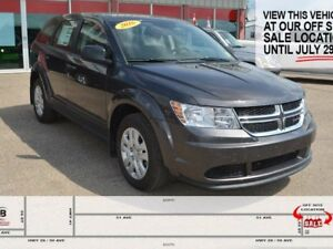 2016 Dodge Journey CVP, UNDER 1,000KMS, DEMO MODEL