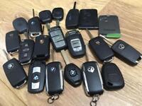 LOST CAR KEY SERVICE KEYS CUT & PROGRAMMED VW, AUDI, SKODA, SEAT, BMW, VAUXHALL, NISSAN, REANULT ETC