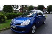 RENAULT CLIO DYNAMIQUE 16V TURBO - 12 months MOT 2008 Manual 73000 Petrol Blue