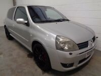 RENAULT CLIO 182 , 2005 , LOW MILEAGE + FULL HISTORY , YEARS MOT , FINANCE AVAILABLE , WARRANTY