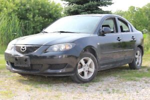 2005 Mazda 3 with lots of new parts installed