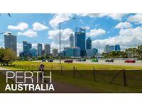 Return flight to Perth Austrtalia from Glasgow - November 2017
