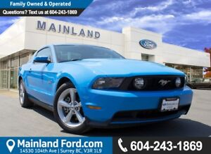 2011 Ford Mustang GT LOW KM'S, NO ACCIDENTS