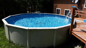 Complete 18 FT above ground pool