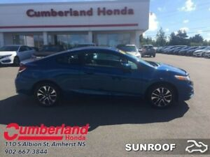 2014 Honda Civic Coupe EX  - Sunroof -  Bluetooth