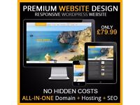PREMIUM WEBSITE 5 PAGES | WEB DESIGN PERSONAL OR BUSINESS - £99