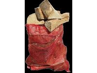 Logs and firewood kindling net bags free local delivery over £10 orders only
