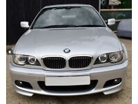 Facelift BMW E46 3 series 330 Coupe M Sport Manual 6 speed