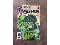 Web of Spider-Man 1985 #7