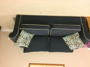 Couch and (pullout bed) Love Seat