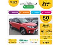Suzuki Vitara FROM £77 PER WEEK!