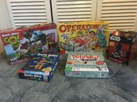 Job lot of kids board games