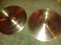Sabian XS20 Medium Hi-Hats (Free P+P)