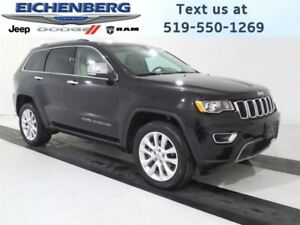 2017 Jeep Grand Cherokee Limited *TAUPE INTERIOR*