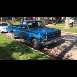 Safetied 1979 gmc 3/4 ton FS or Trade