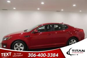 2015 Kia Optima LX|Auto|Red|Heated Seats|Low Kms