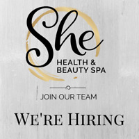 Looking for an Experienced Esthetician