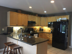 Maple Kitchen Cabinets/Pantry