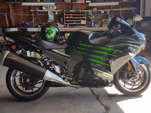 ZX14R Below Book Value!