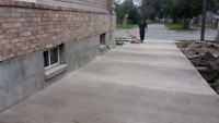 Cement Work - Driveways, steps, patios