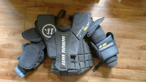 Goalie gear for sale (youth size)