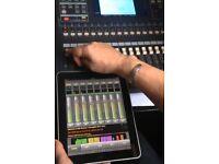 Yamaha 03D Mixer + Flight Case + iPad compatible controller