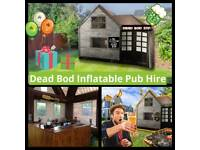 Dead Bod INFLATABLE PUB - HIRE (Alt events/ bouncy castle/ marquee / party / gazebo/ events)