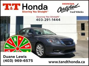 2015 Honda Accord Touring* No Accidents, Heated Seats, Navi *