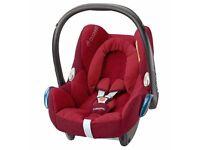 Maxi-Cosi CabrioFix Car Seat in Robin Red - Brand New Boxed