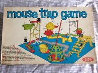Vintage mouse trap board game see photos