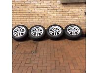 """4X 16"""" BMW Wheels with Winter Tyres"""