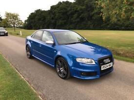 Audi RS4 b7 saloon sprint blue 2006 excellent condition