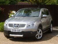 Nissan Qashqai 1.5 dCi Tekna 2WD 5dr # Pan roof # Leather # Full service history
