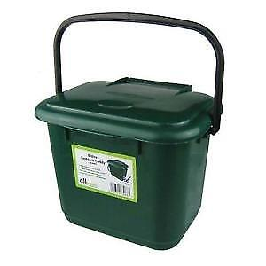 Small compost bin for indoors