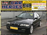2001 BMW 330 3.0i AUTO SE TOURING ESTATE SPORTS 230 BHP + 12 MONTH (AA) WARRANTY