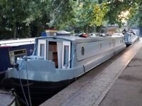 Semi trad narrowboat - KISMET 2008 57 ft - fully refitted throughout!