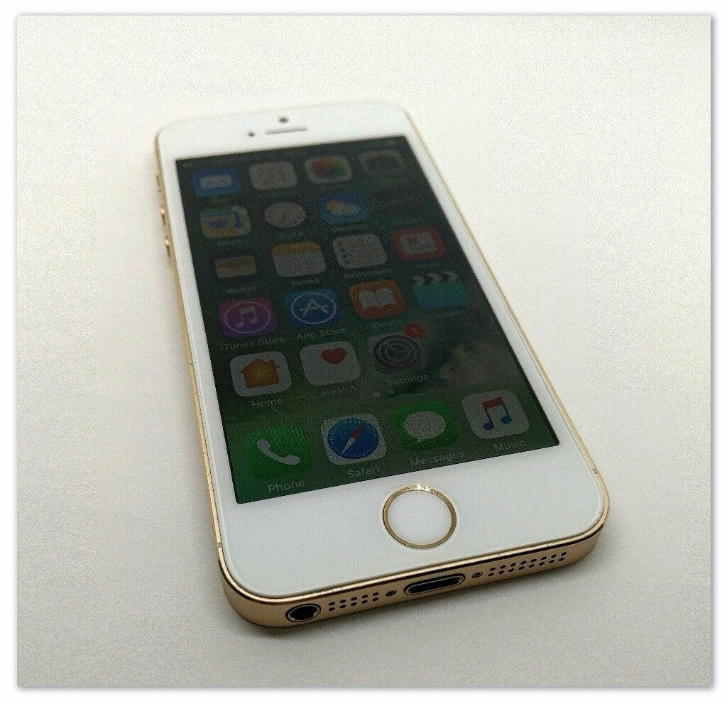 Apple iPhone 5s 16GB goldin Carrickfergus, County AntrimGumtree - Apple iPhone 5s 16GB in gold working 100% comes with box charger earphones has had screen protector on since new phone has been wiped and restored to factory settings for new user, There is a small mark on the top of the phone as shown in pictures,...