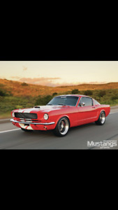 Wanted - 1965 to 1968 Mustang Fastback