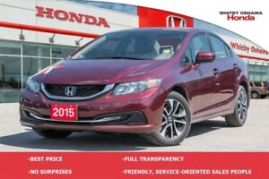 2015 Honda Civic EX (MT)