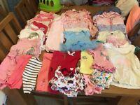 Girls bundle newborn/0-3 clothes