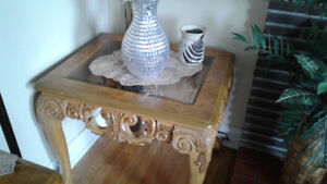 Coffee and end tables and sofa table