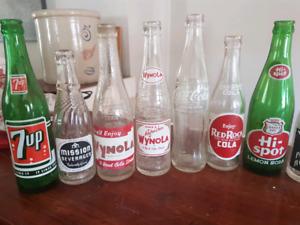 30 Vintage Bottles