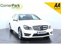 2014 MERCEDES C-CLASS C180 AMG SPORT EDITION PREMIUM PLUS COUPE PETROL