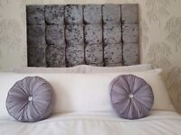 Double wall fitted headboard