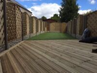 Driveways, block paving, patios, landscaping, fencing, decking, extensions, clearance, turfing