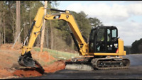 Mini Excavator with Operator for Hire