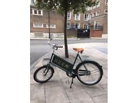 New Emerald Green Vintage Bicycle