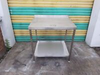stainless steel table work bench commercial kitchen table commercial table